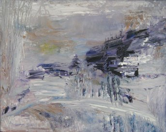 """""""April First"""" Oil on Canvas, 20"""" x 16"""" $300"""