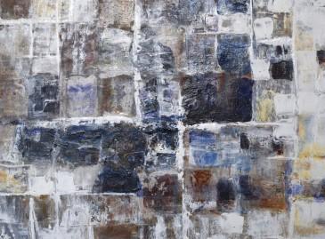 """J.S. Bach Partita 12"" Oil on Rag Paper on Panel, 9"" x 12"" $150"